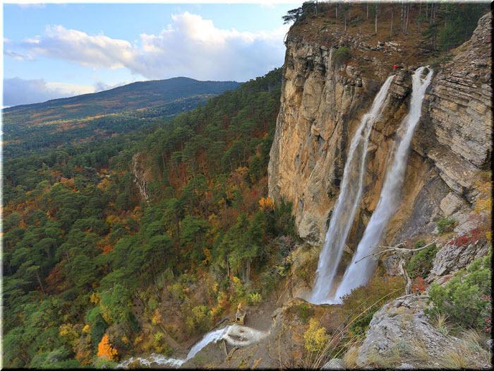 фото водопада Учан-Су