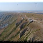 Гора Клементьева — идеальное место для парапланеризма в Крыму