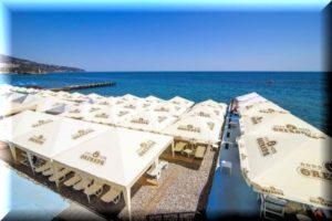 лучшие отели ялты с собственным пляжем