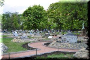 парк крым в миниатюре бахчисарай