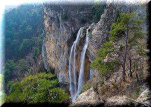 водопад учан су в крыму