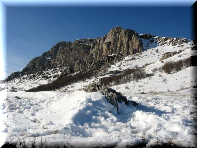 гора Эклизи-Бурун в Крыму