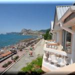 Какие отели в Судаке на берегу моря самые лучшие?