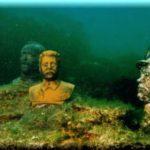 «Аллея вождей» — удивительный подводный музей на Тарханкуте