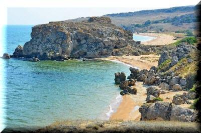 генеральские пляжи керчь