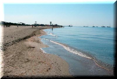пляж поповка крым
