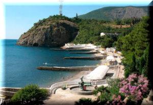 Курорты Партенит и Утёс в Крыму Отдых в Партените и
