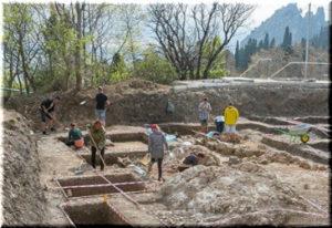 На территории МДЦ «Артек» найден фундамент византийской базилики
