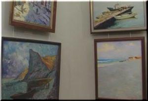 В Феодосии проходит выставка картин Сергея Матюшкина