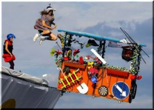 В июле 2017 года в Ялте планируют провести Фестиваль шуточных летательных изобретений