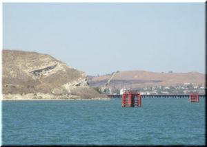 В районе мыса Ак-Бурун оборудовали смотровую площадку для созерцания Керченского моста