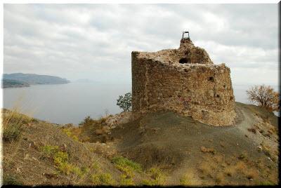 крепость чобан-куле в судаке