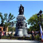 Памятник Екатерине II в Симферополе: восставший как феникс из пепла