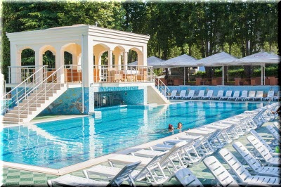 парк-отель порто маре алушта бассейн