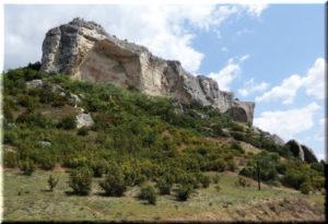 пещерный город качи кальон крым