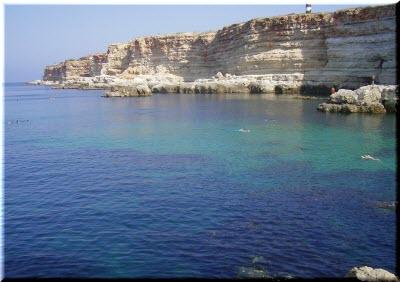 пляж голубая бухта севастополь