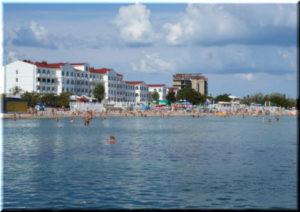пляж в бухте омега севастополь