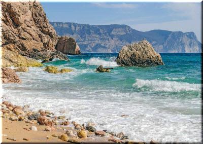 пляж васили крым