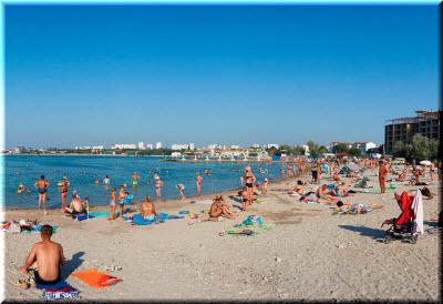 пляж в бухте омега фото