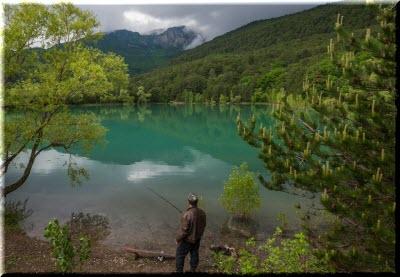 бирюзовое озеро отдых