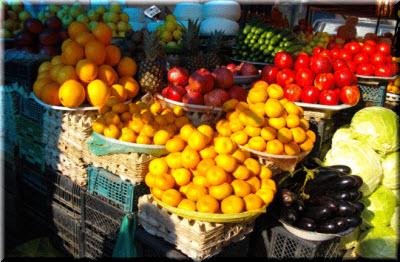фрукты в абхазии