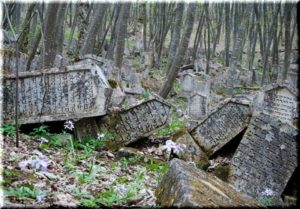 караимское кладбище бахчисарай