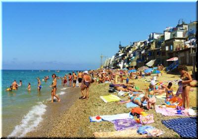 отдых в крыму кача пляжи