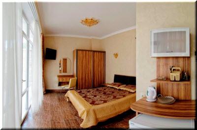 отель александрия кацивели в номере