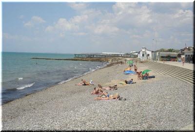 песчаное крым пляжи фото