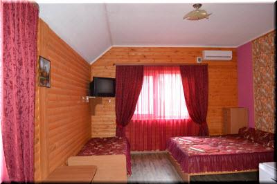 солнечное база отдыха алушта в номере