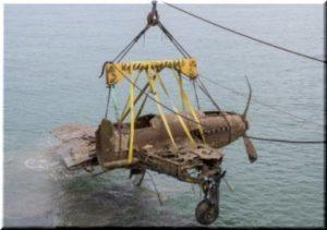 в керченском проливе подняли самолет второй мировой войны