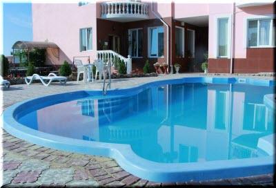 отель классик коктебель бассейн