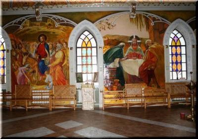 церковь всех святых феодосия фото внутри