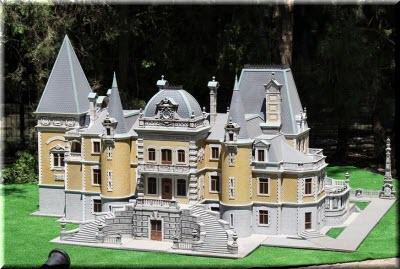 Дворец в евпаторийском Парке миниатюр
