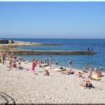 Толстяк — один из самых популярных пляжей на Северной стороне Севастополя