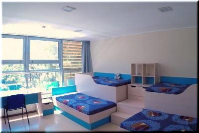 Комнаты для детей в Артеке