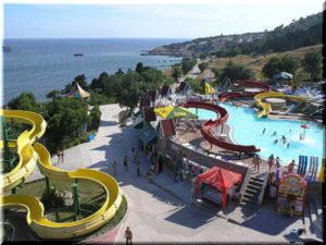 Аквапарк «Голубой залив» в Крыму