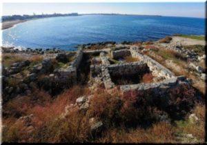 Фото античного города Калос Лимен