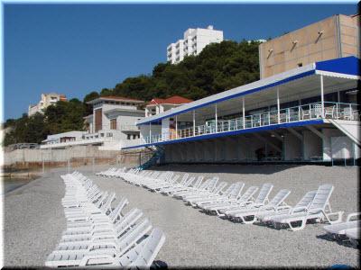 фото на пляже отеля Марат