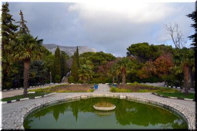 фото парка в Форосе