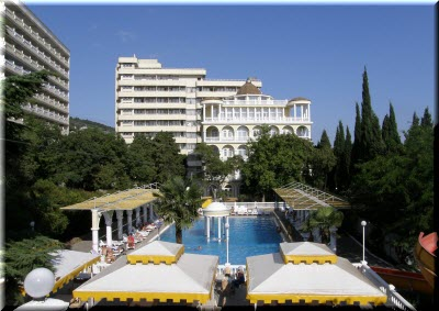 лучшие отели Гаспры