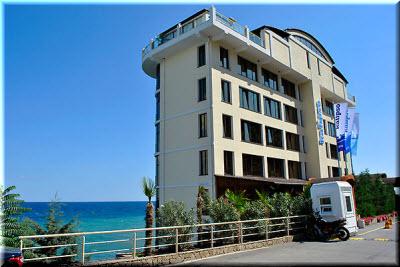 Отель «Калипсо» в Алуште