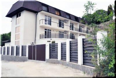 отель Прилив в Гурзуфе