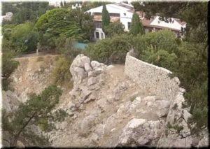 Панеетцкая крепость в Симеизе