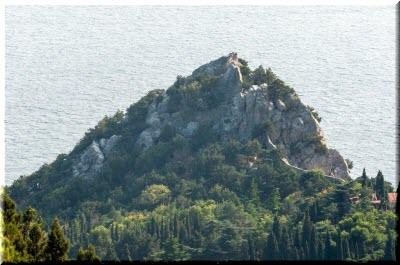 скала Панеа в Крыму