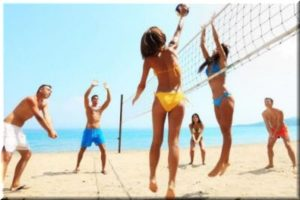 волейбольный турнир в Феодосии