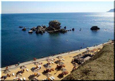 фото пляжа Мохито с высоты