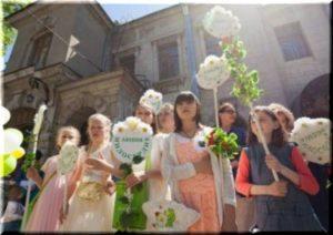 фото с акции Белый цветок