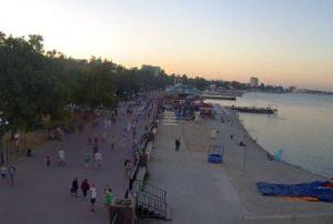 фото с веб-камеры на Набережной Феодосии