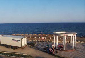 фото с веб-камеры на набережной п. Береговое